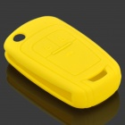 gel14032306 Silicone Car Key Case Cover for 2011 Chevrolet Cruze - Yellow