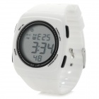 SHHORS SH-798 Waterproof Outdoor Sports Digital Wristwatch - White (1 x CR2016)