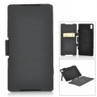 "5V ""5500mAh"" Li-ion Battery Power Bank Case w/ Stand for Sony Xperia Z2 / D6503 - Black"