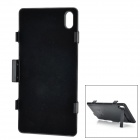 External 3800mAh Power Battery Charger w/ Stand / Back Case + Cable for Sony Xperia Z2 / D6503
