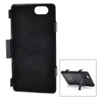 3800mAh Power Bank Battery  w/ Stand /  Cable for Sony Xperia Z1 Compact - Black