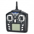 WLtoys WL-R5 2.6'' LCD 6-Axis Multi-Function Remote Controller for R/C Toy - Black (6 x AA)