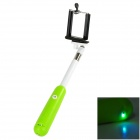 Adjustable Mobile Phone / Camera Monopod Mount Holder w/ Wireless Bluetooth Selfie Timer Pole + LED