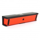 NiZHi Bluetooth V3.0 Speaker w/ Microphone / FM / TF / Micro USB / 3.5mm - Black + Red