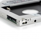 SATA3 Serial HDD Caddy / CD Driver soporte para Apple MacBook Pro + más - plata + negro