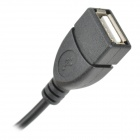 5V 1A USB Electric Car Charger - Black