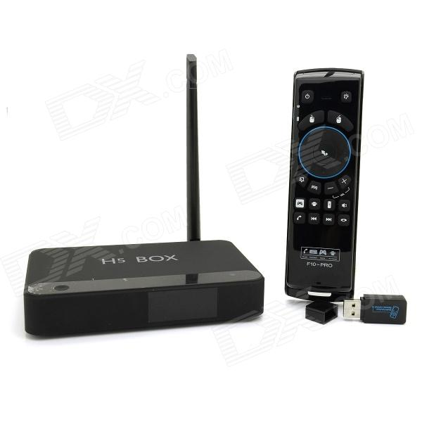 Ideastar H5 quadricœur 4.2.2 Android Google TV Player w / 2 Go de RAM, 16 Go de ROM, 5 GHz Wi-Fi + F10 Air Mouse