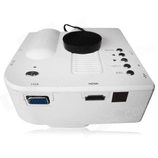 Mini Home High Definition LED Projector W/ HDMI Port