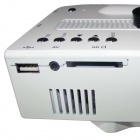 Mini Home High Definition LED Projector w/ HDMI Port - White