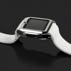 "TW530 Bluetooth V3.0 Partner GSM Watch Phone w/ 1.54"" Resistive Screen, Quad-band - White + Silver"
