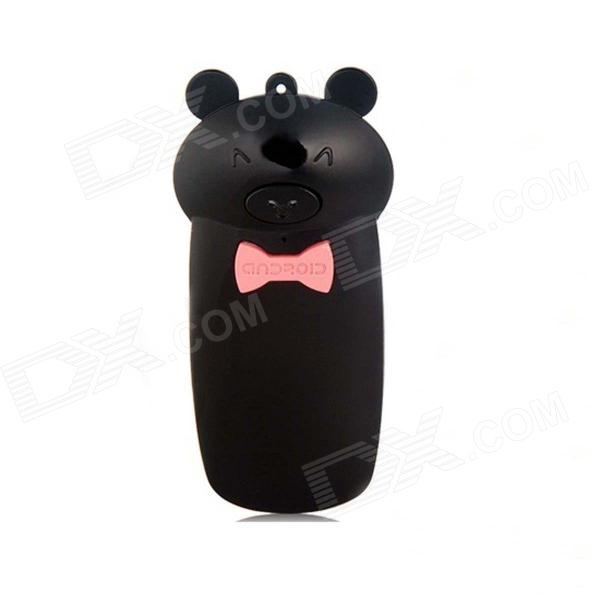 Creative Lovely Pig Shape Wireless Bluetooth Shutter Controller for IPHONE 5 + More - Black