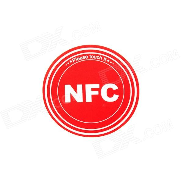 Smart NFC Tags Stickers / Ntag203 / 144 Bytes for Sony, Samsung, Nokia, Android, Blackberry - Red smartrac nfc ntag 203 circus 23mm stickers set windows android htc samsung nokia