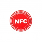 Smart NFC Tags Stickers / Ntag203 / 144 Bytes for Sony, Samsung, Nokia, Android, Blackberry - Red