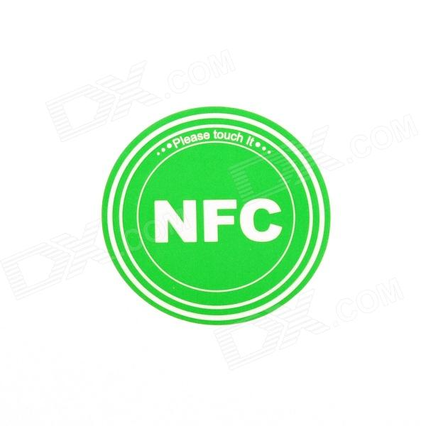Smart NFC Tags Stickers / Ntag203 / 144 Bytes for Sony, Samsung, Nokia, Android, Blackberry - Green smartrac nfc ntag 203 circus 23mm stickers set windows android htc samsung nokia