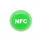 Smart NFC Tags Stickers / Ntag203 / 144 Bytes for Sony, Samsung, Nokia, Android, Blackberry - Green