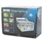 50mW Green + 100mW Red Laser Light Show Special Effects Stage Projector (110V~240V AC)