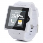"iradish i6S Android 4.0.4 Dual-core WCDMA Watch Phone w/ 1.54"" MIPI, Wi-Fi and GPS - White + Black"