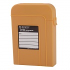 "ORICO PHI-35 Protective PP + EVA Storage Case w/ USB 2.0 / USB 3.0 / eSATA for 3.5"" HDD - Yellow"