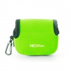 NEOpine Mini Protective Neoprene Camera Case Bag for GoPro Hero 3+ / 3 / 2 / SJ4000 - Green (S)