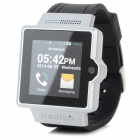 "iradish i6S Android 4.0.4 Dual-core WCDMA Watch Phone w/ 1.54"" MIPI, Wi-Fi and GPS - Silver White"