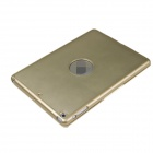 M-6123 Ultrathin aluminiumslegering trådløs Bluetooth V3.0 78-tast tastatur for IPAD luft - Golden