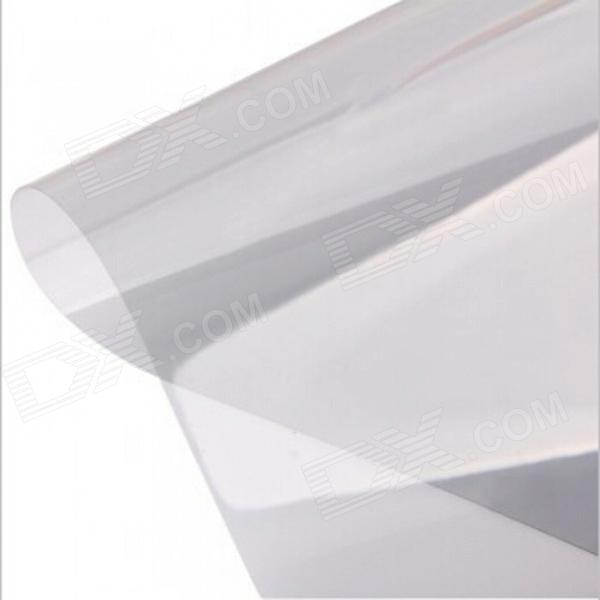 Tai Shen Heat Isolation Polyurethane Film Sticker for Glass / Window / Door - Grey