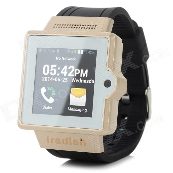 iradish i6S Android 4.0.4 Dual-core WCDMA Watch Phone w/ 1.54