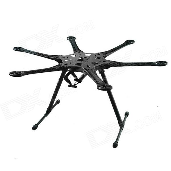 ZnDiy-BRY HMF S550 F550 Upgrade Hexacopter Frame Kit w/ Landing Gear for FPV - Black bag kg dust for hp hewlett packard ce 412 a 412a m451 dn m 351 a 451 dn new laser resetter powder lowest shipping