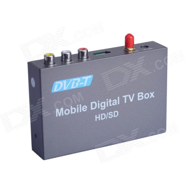 TM237A HD / SD mobila digitala bil DVB-T TV-mottagare - aska svart