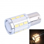 1156 / BA15 4W 220lm 21 x 5730 SMD Warm White LED for Car Steering / Backup Light (DC 12~24V)