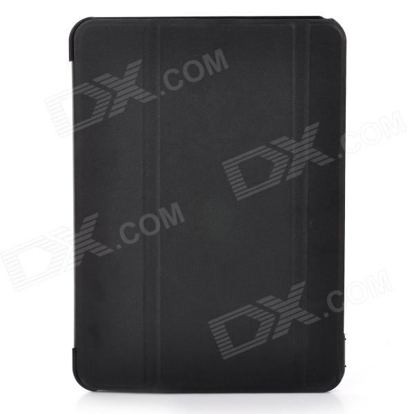 Protective PU Leather + PC Case for Samsung Galaxy Tab4 10.1 - Black