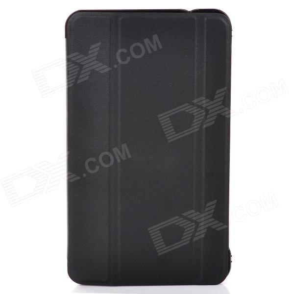 Protective PU Leather + PC Case for Samsung Galaxy Tab 4 8.0 - Black