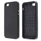 Protective Silicone and Plastic Case for IPHONE 5 / 5S - Black