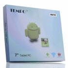 "TEMPO MS705 7 ""Android 4.2 Ordinateur de table Dual Core avec ROM de 4 Go, Wi-Fi, caméras doubles, TF - Blanc"