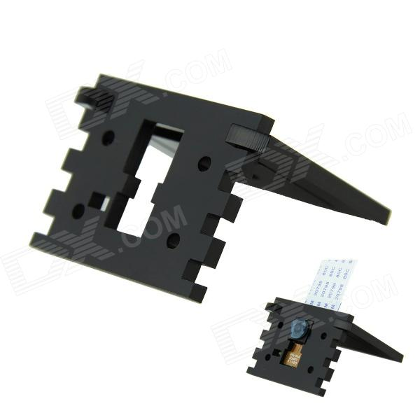Specified Camera Bracket Stander for Raspberry PI - Black