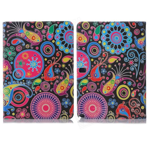 ENKAY ENK-7055 Jellyfish Pattern PU + Plastic Case for Samsung Galaxy Note 10.1 P600 - Multicolored bailey 7055 atmore