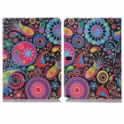 ENKAY ENK-7055 Jellyfish Pattern PU + Plastic Case for Samsung Galaxy Note 10.1 P600 - Multicolored