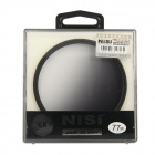 NISI 77mm Soft Grey Graduated Filter for Nikon / Canon / Sony + More - Black + Grey