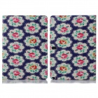 ENKAY ENK-7055 Flower Pattern PU Case w/ Stand for Samsung Galaxy Note 10.1 P600 - Multicolored