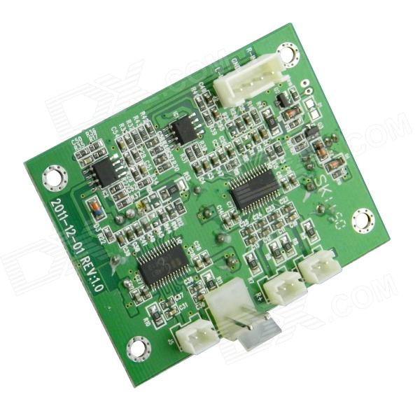 EUA2110 Class-D Stereo Audio Amplifier Module (DC 8~24V)