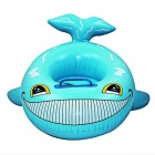 Baby's Fish Style Inflatable Yacht Swim Seat Ring Swimming Trainer - Blue