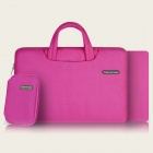 "Cartinoe Laptop Inner Bag + Coin Purse + Mousepad for Apple MacBook Air / Pro 15.4"" Tote Bag -Pink"