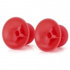 Replacement ABS Joystick Cap for Xbox One Controller - Red (2 PCS)