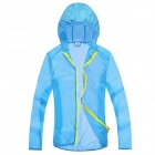 WindTour WT13514 Women's Outdoor Super Lightweight Sun Protection Jacket - Sky Blue (L)
