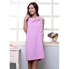 Multifunctional Household Clothes / Bath Towel / Bathrobe for Camping / Travel - Light Purple
