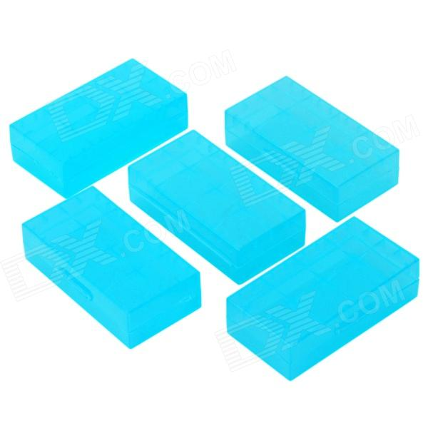 18650 / CR123A / 16340 / CR2 / 15270 Battery / Electronic Components / Gadgets PP Storage Box (5PCS)