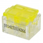 910037-2 Electric Wire Connector - Yellow + Transparent