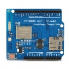 CC3000 Wi-Fi Shield Module w/ Micro SD Card Slot for Arduino Mega2560 / R3 - Deep Blue