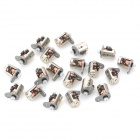 ABS 6 x 8.5mm Micro Stepper Motor - Silver (20 PCS)