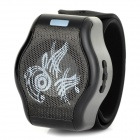 Watch Style Handsfree Bluetooth V3.0 Speaker w/ Microphone / MP3 / TF - Black + White (90cm)